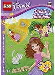 Lego Friends: Olivia's Rainbow Activity Book with Mini-set